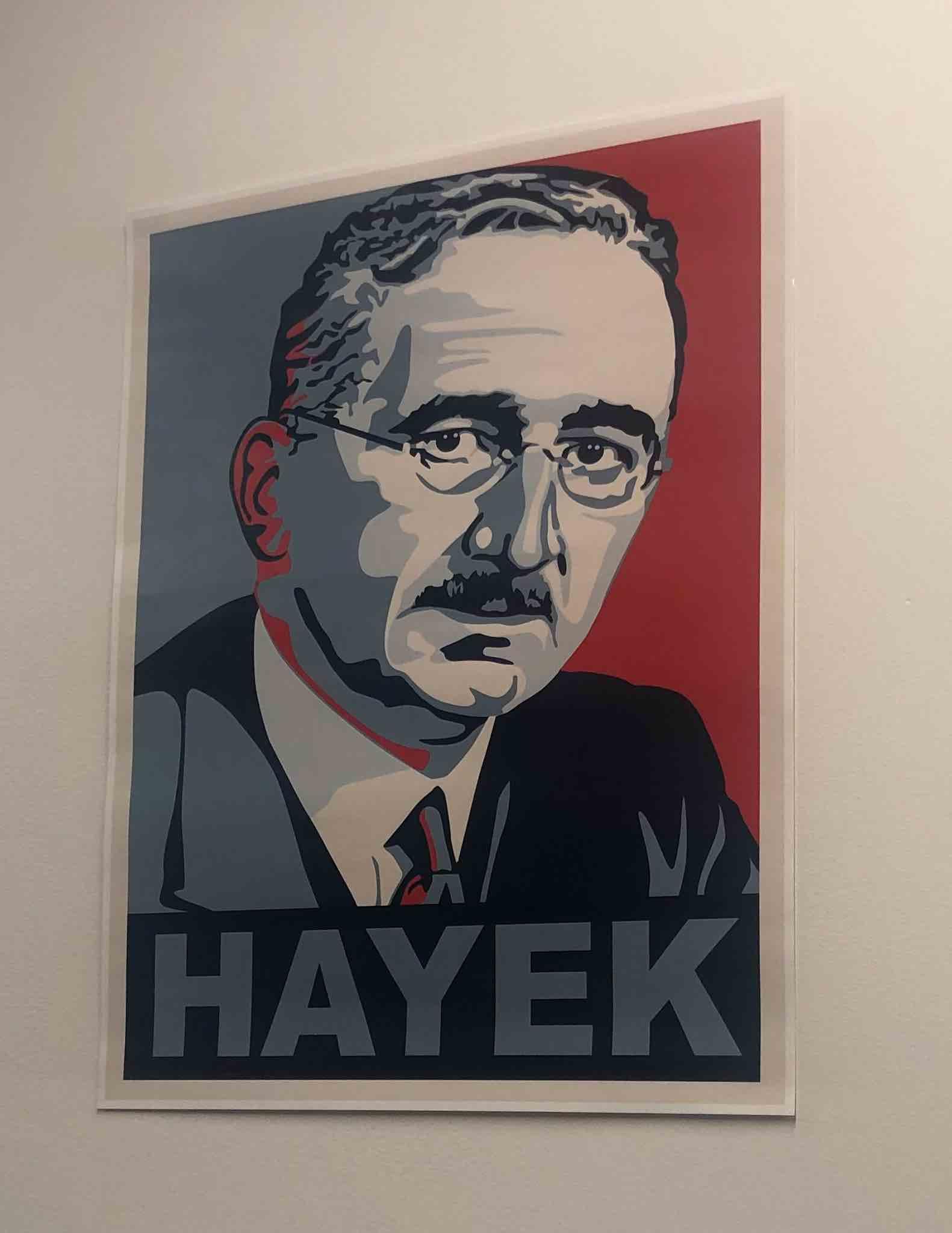 F.A. Hayek Poster